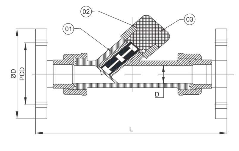 strainer valve manufacturer & exporter in india