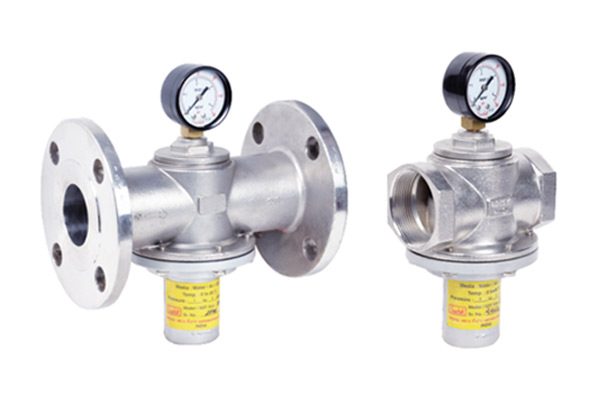 direct actuated pressure reducing valve