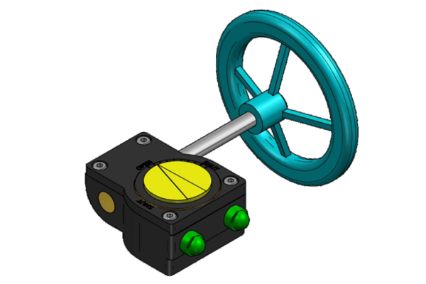 #alt_tagHand Wheel Operated Gear Box 1