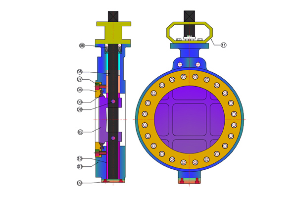 #alt_tagHigh Performance Butterfly Valve 2
