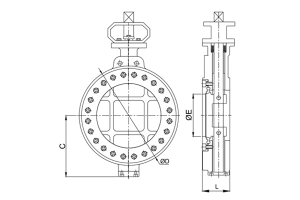 #alt_tagHigh Performance Butterfly Valve 3