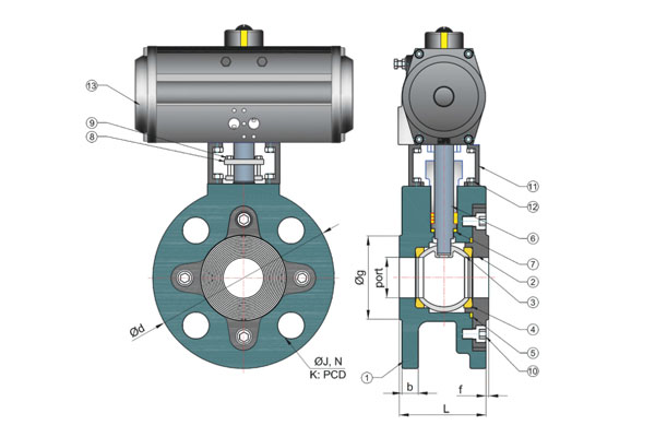 Wafer Type Ball Valves, Manufacturer, Supplier India