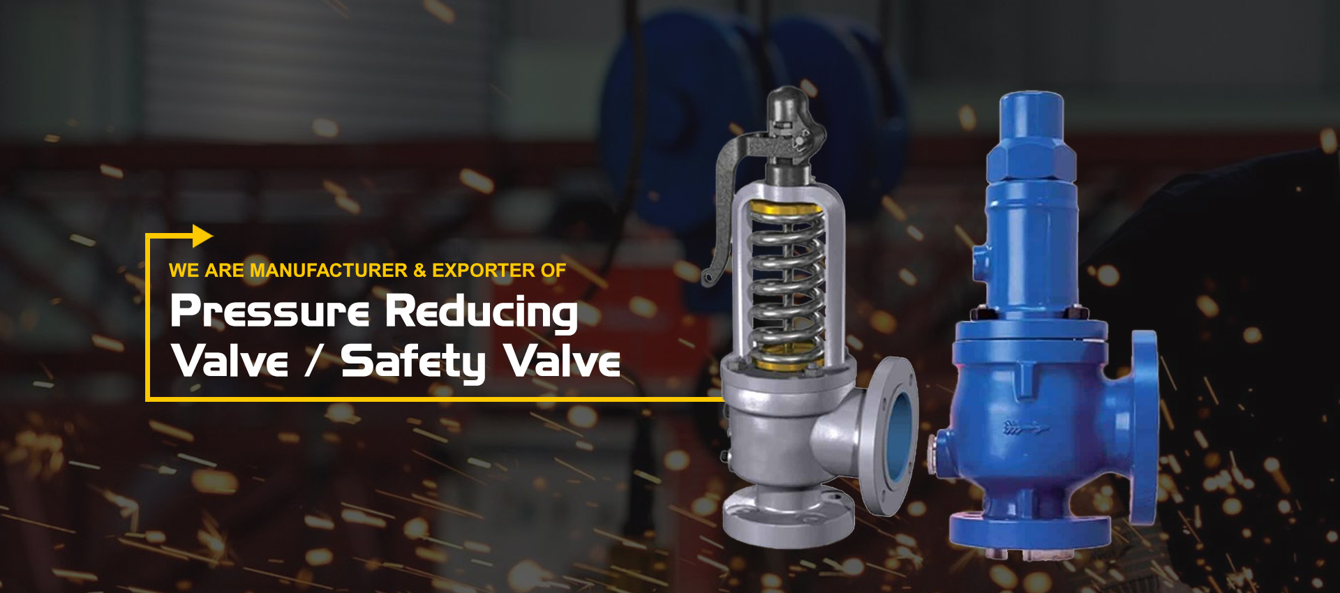#alt_tagPressure Reducing Valve/ Safety Valve Manufacturer