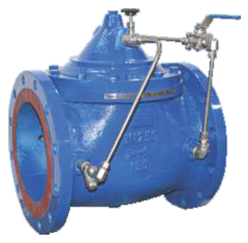 hand lever operated ball valve