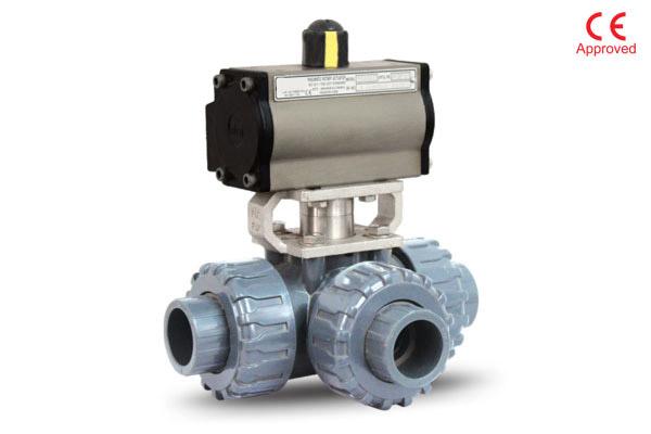 3 way pvc ball valve exporter in Indonesia
