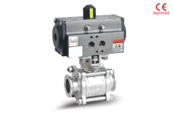 #alt_tag3 Piece Design Triclover End Ball Valve in India