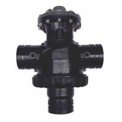 back flushing control valve