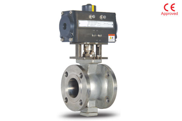 V Notch Floating Ball Valve