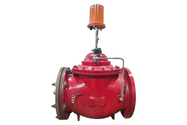 Manufacturer of motorized flow control valve India