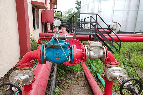 pressure reducing valve for water