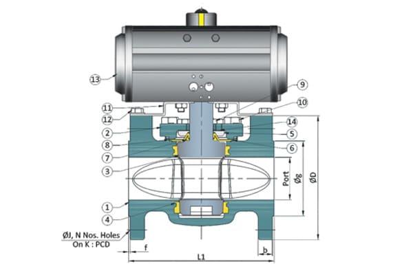 flanged plug valve manufacturer