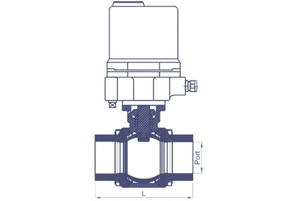 motorized high performance butterfly valves